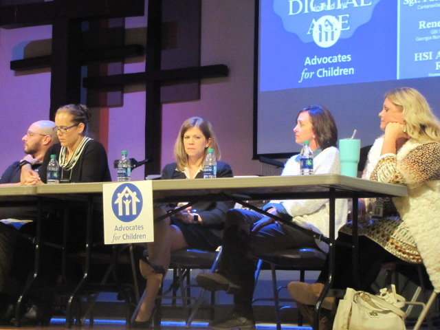 "Panelists at Thursday night's ""Parenting in the Digital Age"" discussion included local police, social workers and representatives of state and federal-level agencies."