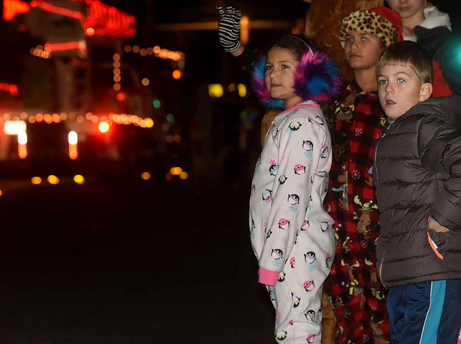 Holiday enthusiasts of all ages lined the streets of downtown Cartersville Thursday night for the city's annual Christmas parade.