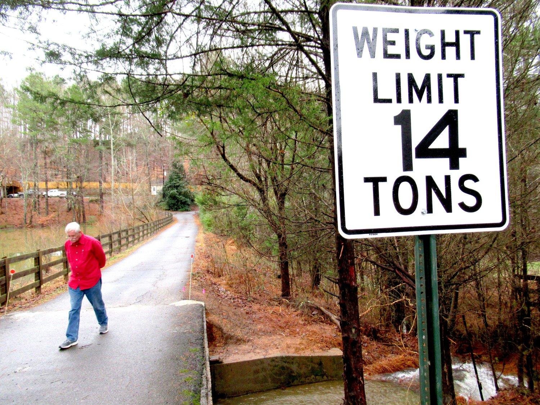A BRIDGE TOO FAR: Resident raises concerns about emergency responses