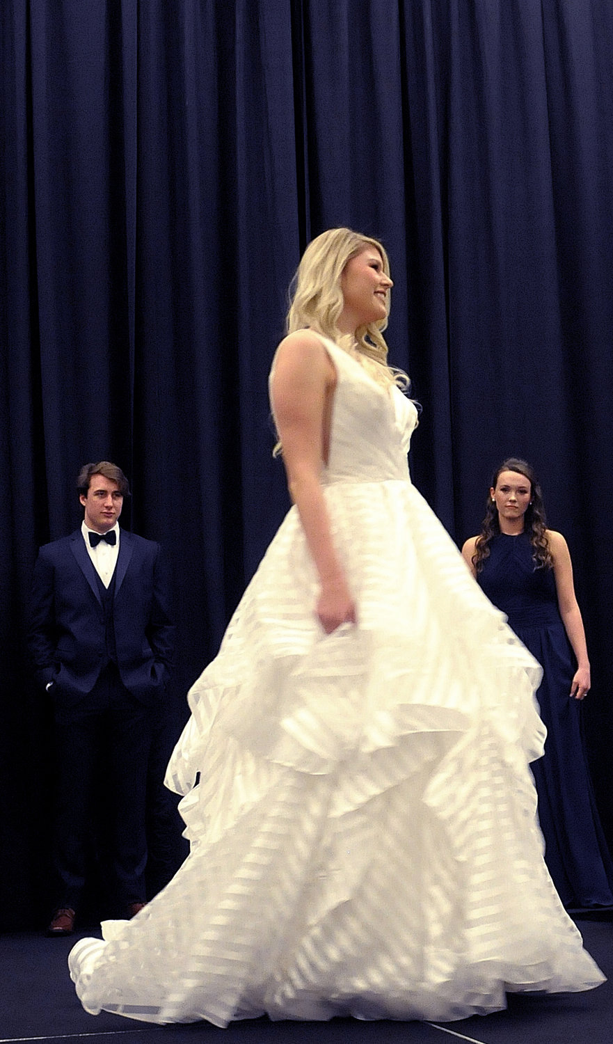 The Northwest Georgia Bridal Show at the Clarence Brown Conference Center in Cartersville featured a fashion show for brides, bridesmaids, grooms and groomsmen.