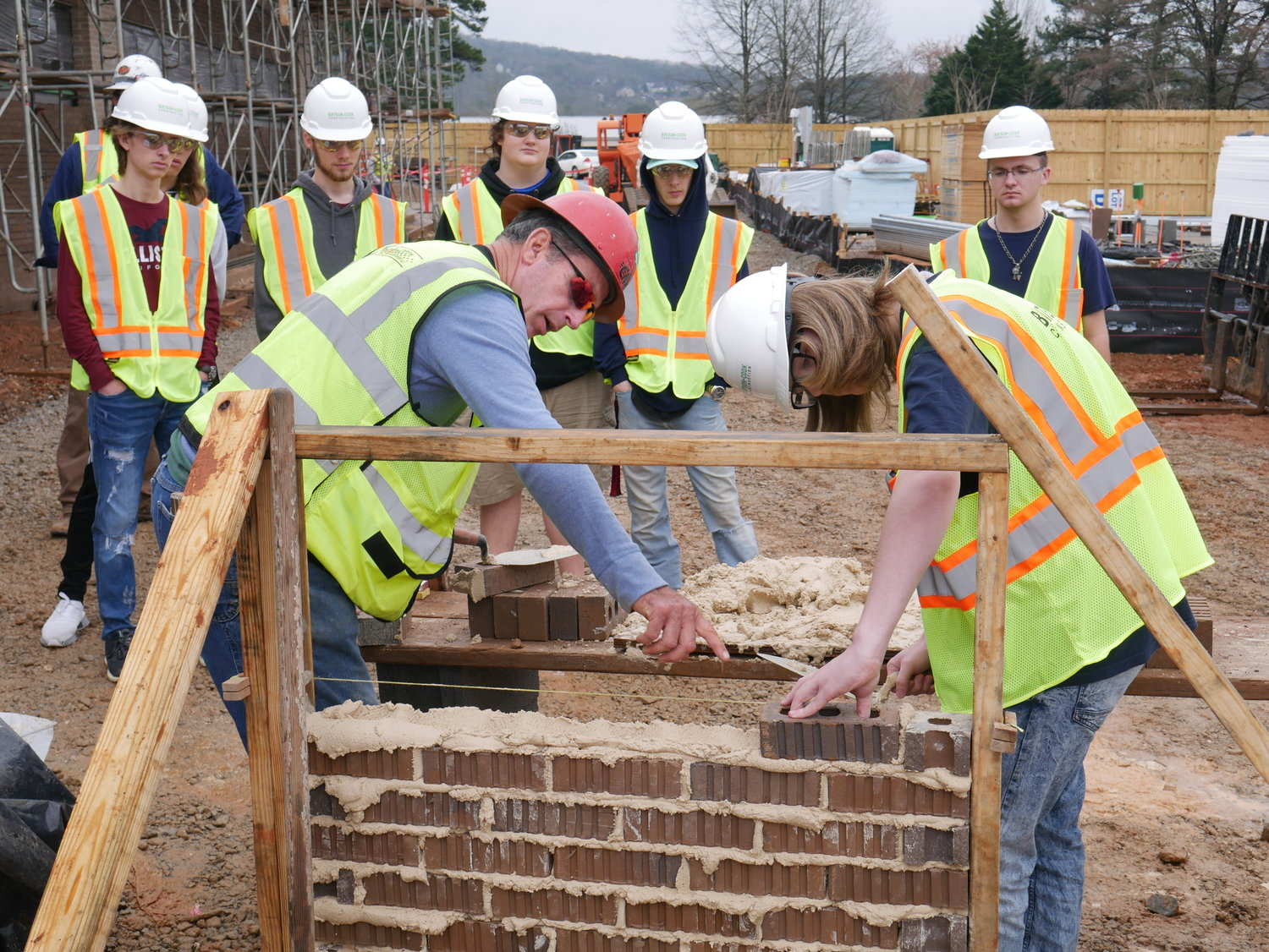CHS construction students take field trip to Batson-Cook ...