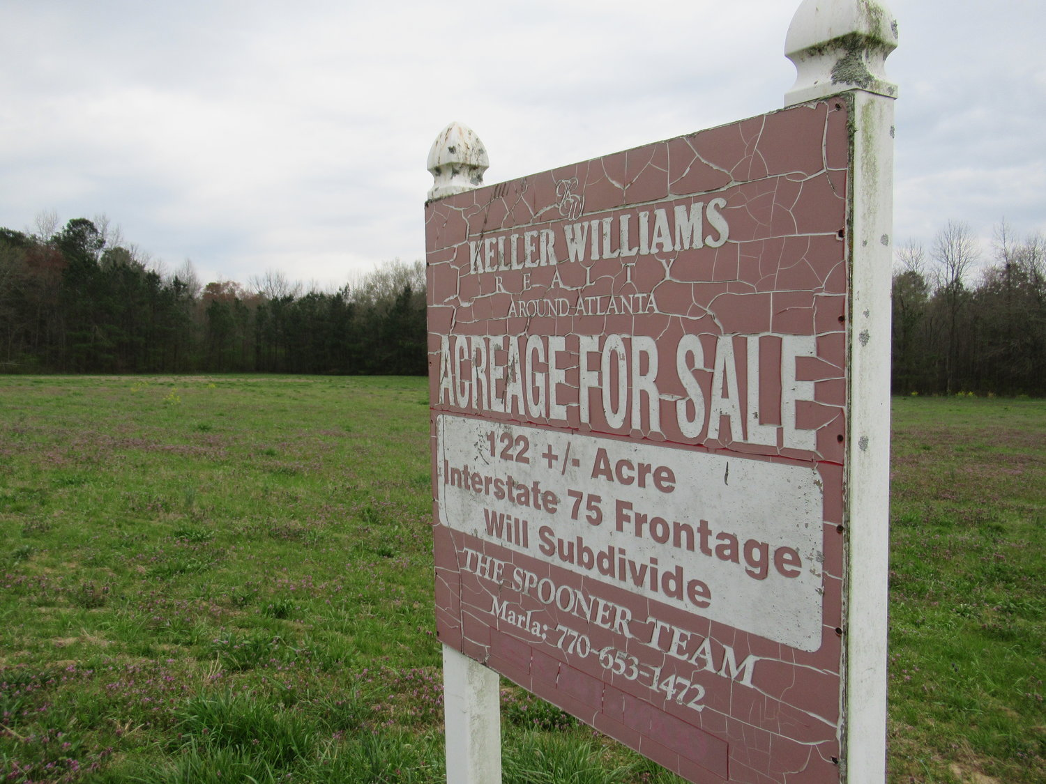 A real estate developer with plans to construct a 1-million-square-foot distribution center along Spring Place Road will have to wait at least six months to refile a rezoning application after failing to comply with the County's public notice procedures.