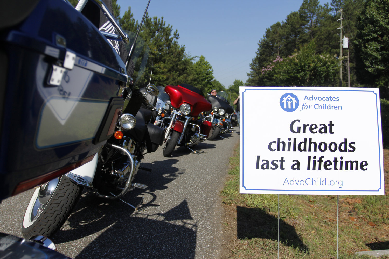 Iron Order Motorcycle Club of Cartersville will present its 12th annual motorcycle ride benefitting Advocates for Children's Flowering Branch Children's Shelter June 1.