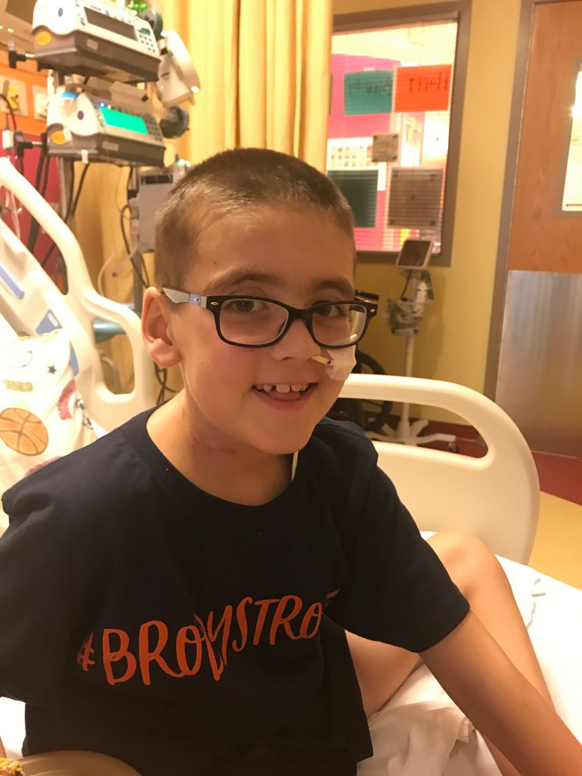 A rising Cartersville Elementary School third-grader, Brody Parker is awaiting a heart transplant.