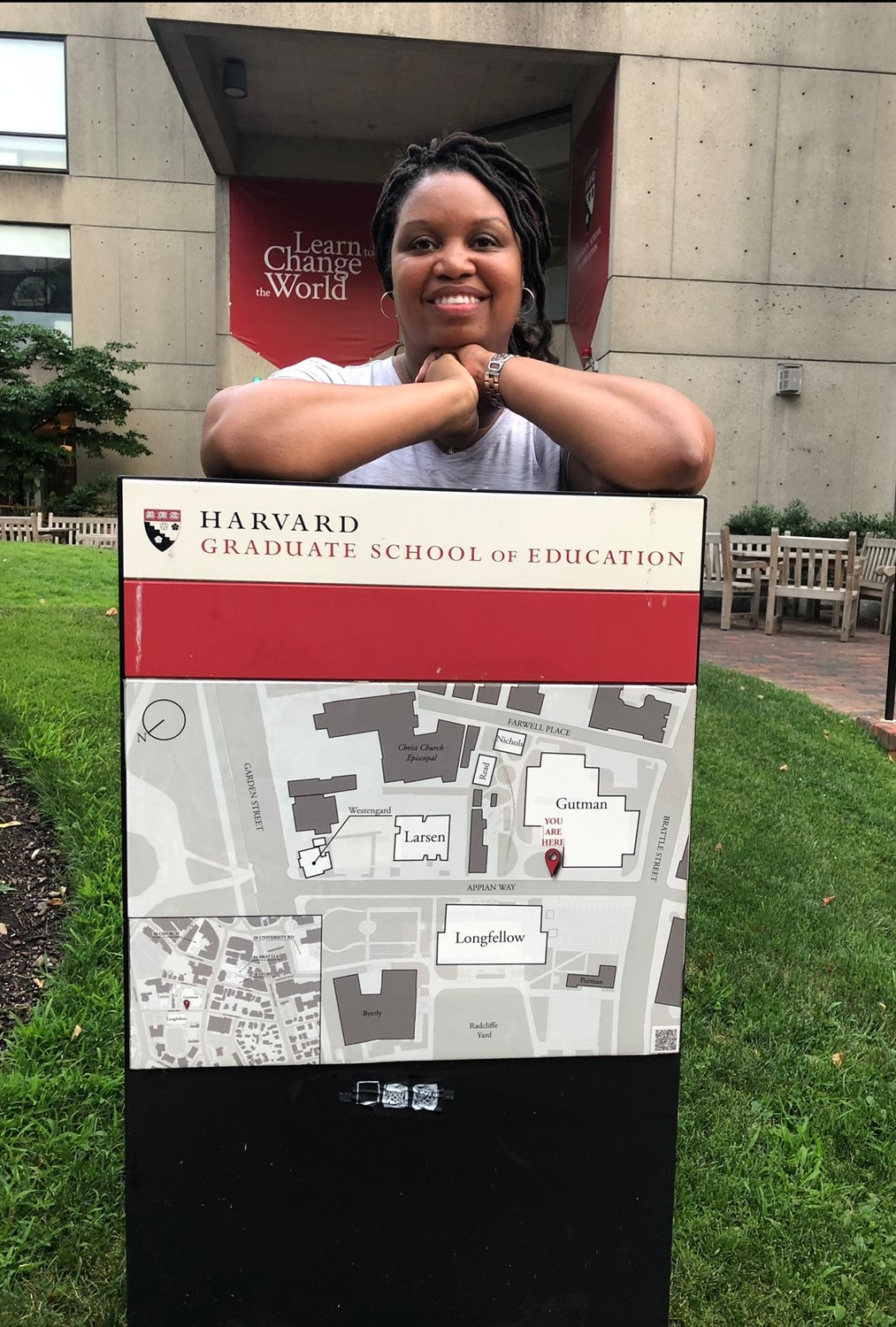 Cartersville Elementary Principal Melissa Bates was one of four Georgia educators chosen for Leadership Evolving Vision/LEV at the Harvard Graduate School of Education in Boston July 7-13.