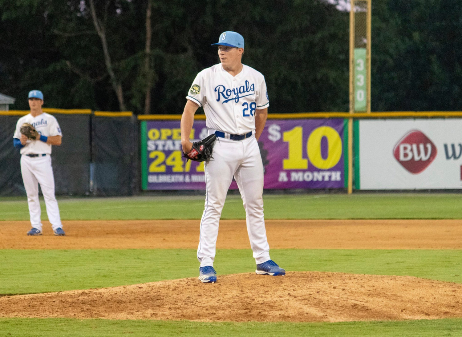 Cartersville High graduate Elliott Anderson kept up the phenomenal start to his professional career with two more scoreless appearances this past week, earning his second win and third save of the year. The left-hander has yet to allow a run in 10 outings, spanning 13 1/3 innings, for the Burlington Royals.
