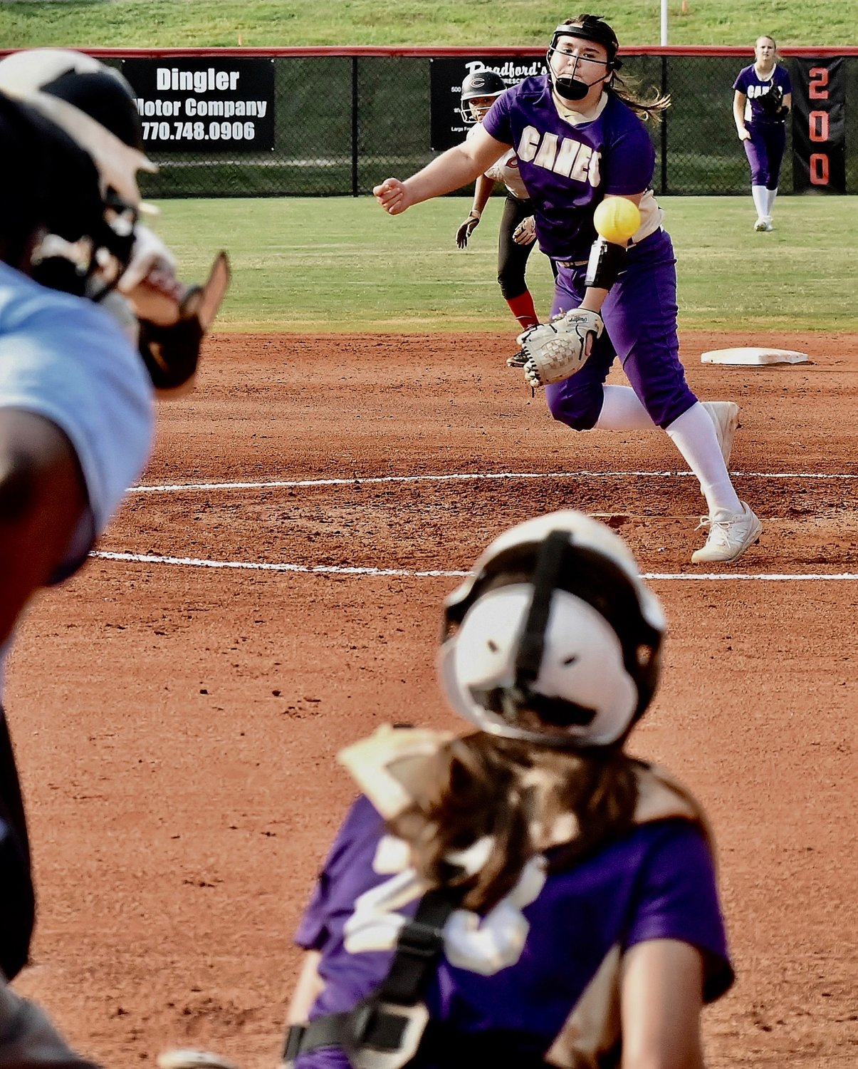 Cartersville freshman McKinley Chada went the distance Thursday, while allowing just one earned run.