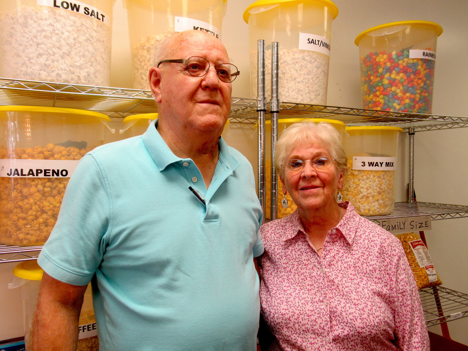 Robert Cox and Louise Cox launched their specialty shop Going Nuts in downtown Cartersville last month.