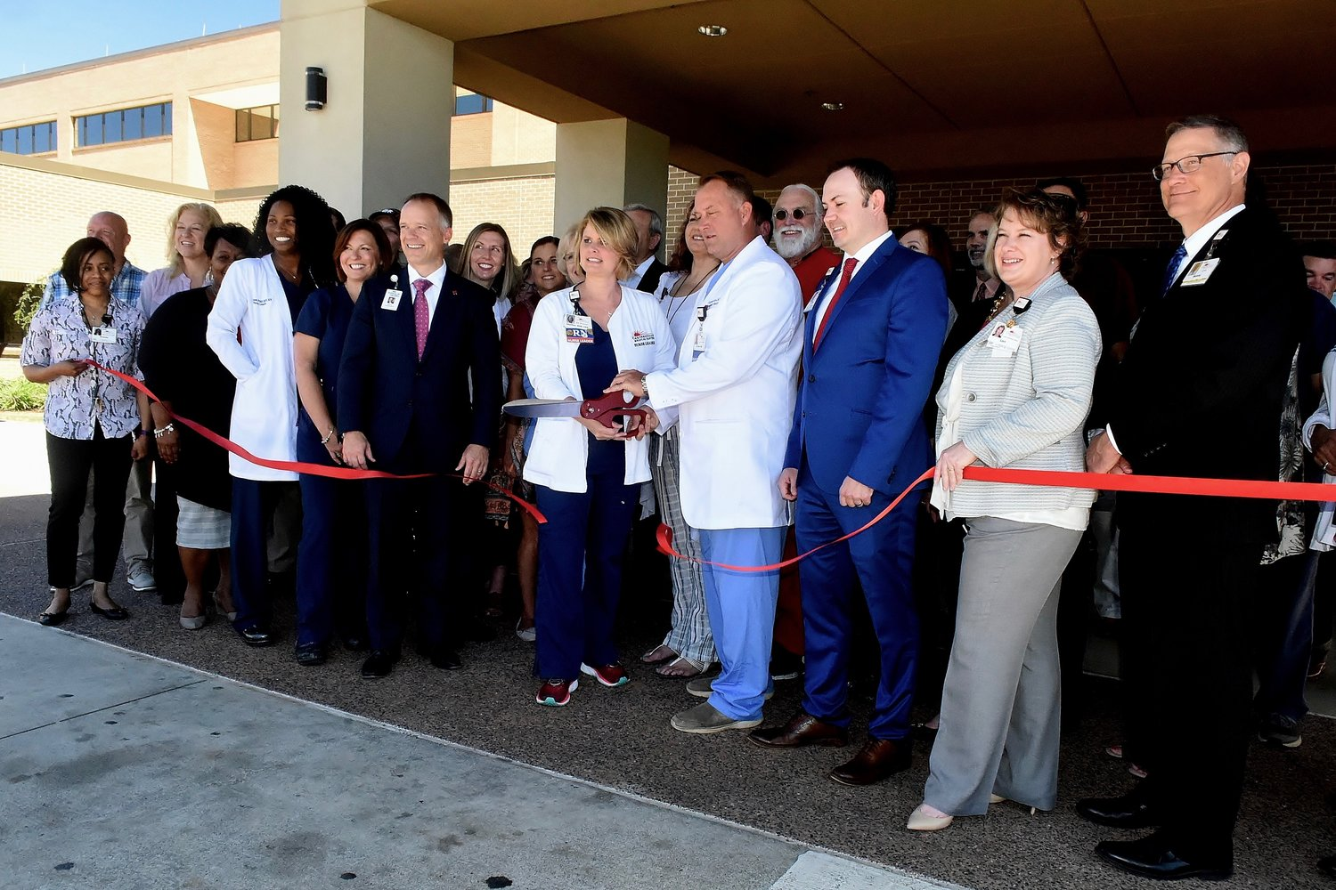 Cartersville Medical Center celebrated the completion of its $14 million emergency department expansion project with a ribbon-cutting ceremony on Thursday.
