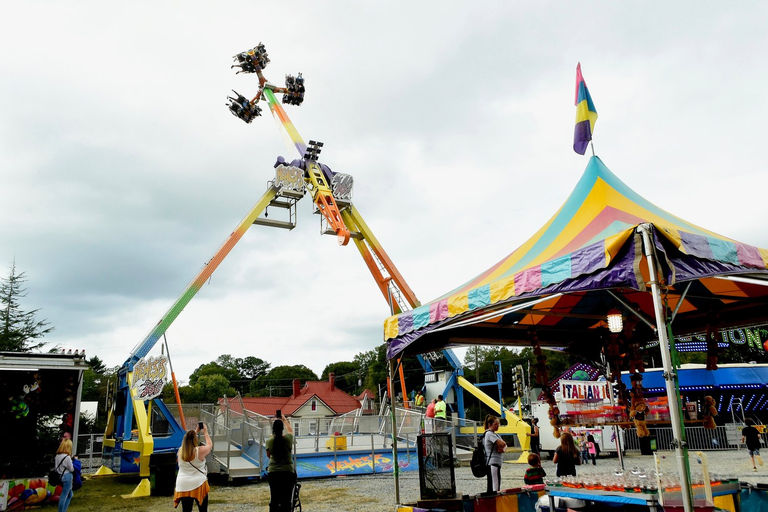 Thousands attended the 51st Annual Great Locomotive Chase Festival in downtown Adairsville over the weekend. The festival offered arts and crafts, carnival rides, food, music, and games and activities for children.