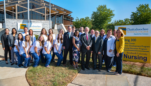 Chattahoochee Tech Reinhardt Form Nursing Partnership The Daily Tribune News