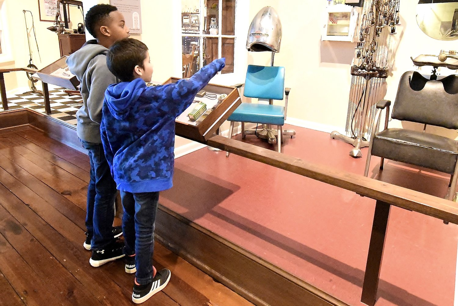 The Bartow History Museum displays many artifacts of times-gone-by, and serves as a popular venue for school field trips.