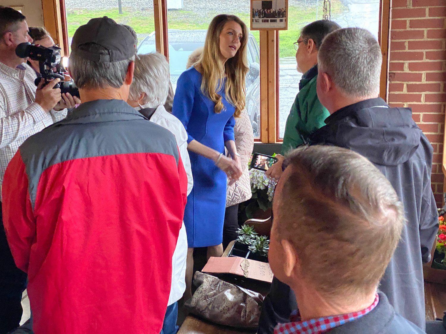United States Senator Kelly Loeffler made a campaign stop in Emerson Thursday morning.