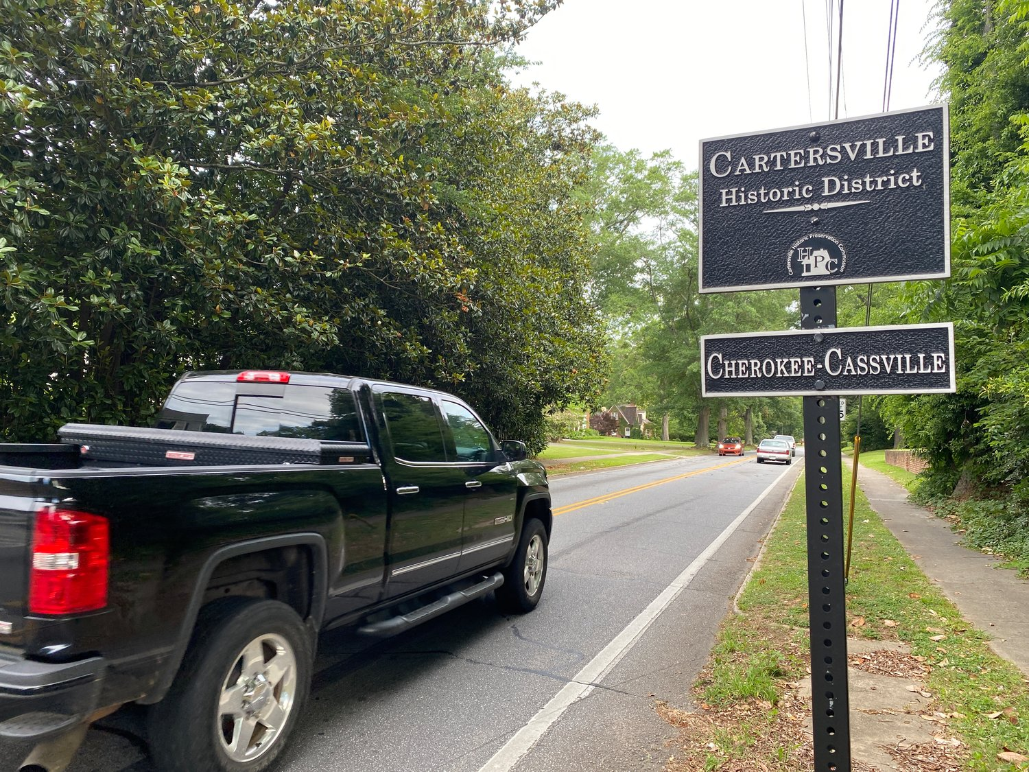 The Cartersville Planning Commission tabled a decision on proposed infill overlays in two historic districts until August.