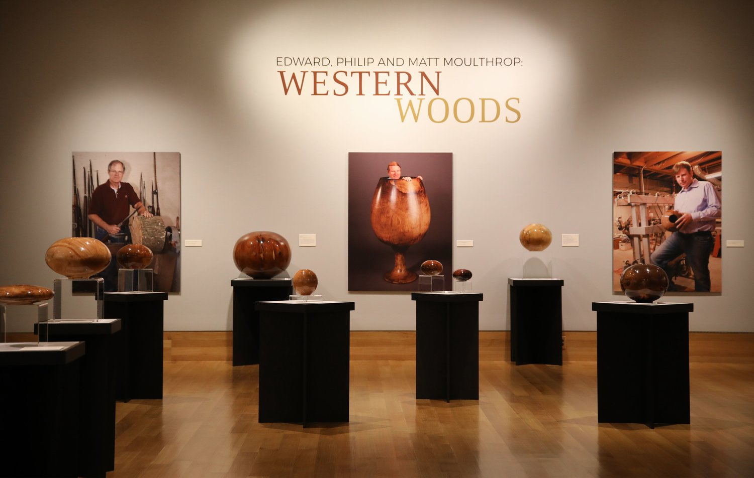 "Booth Western Art Museum is presenting the ""Edward, Philip and Matt Moulthrop: Western Woods"" special exhibit through Oct. 4."