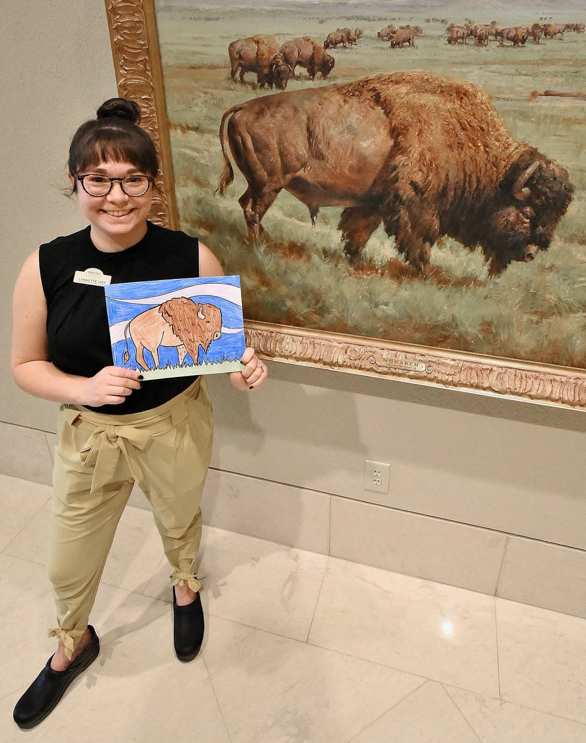 Lynnette Torres Ivey serves as the Booth Western Art Museum's education outreach coordinator.