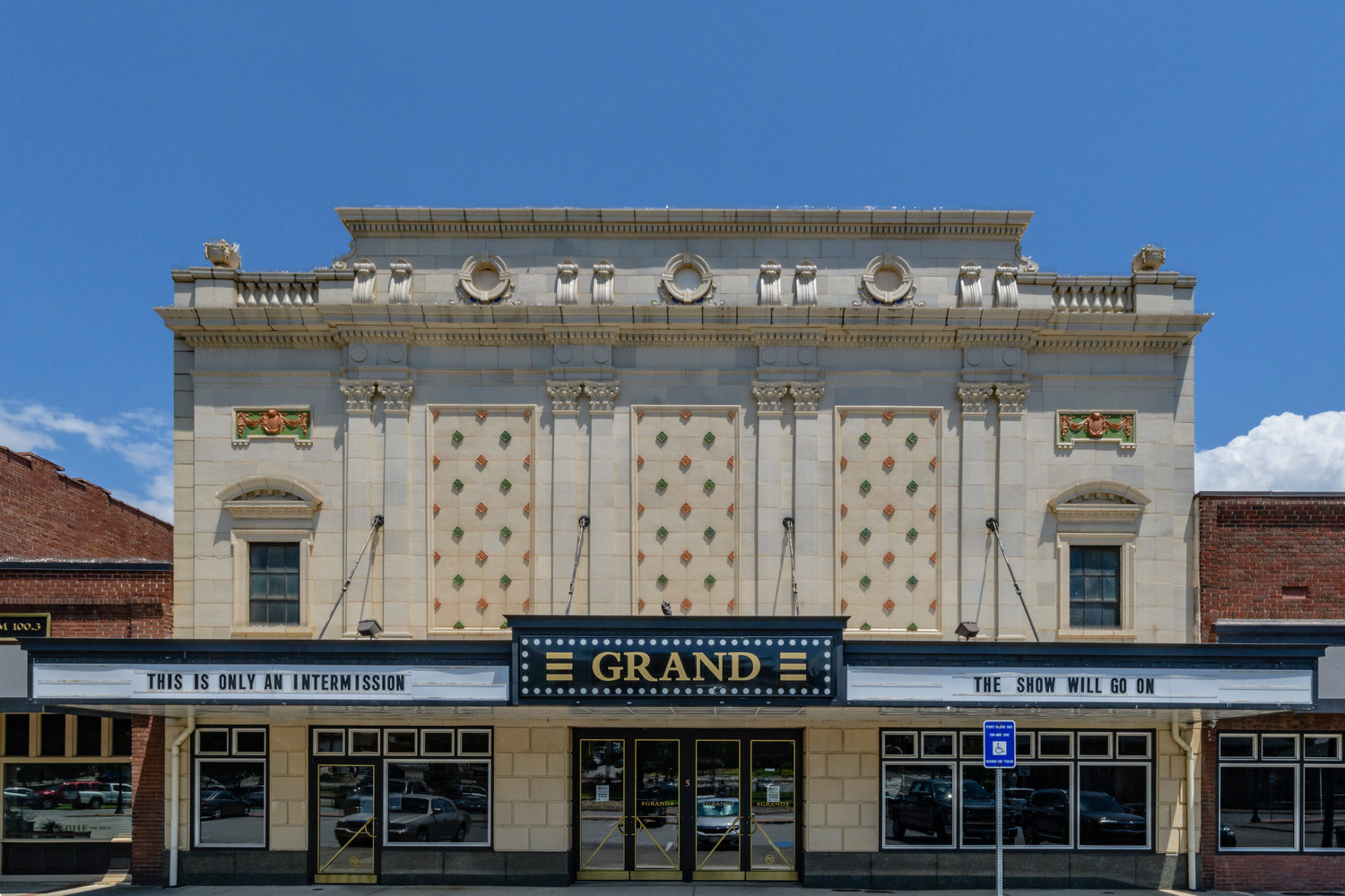 The Grand Theatre is one of two Cartersville venues highlighted in photographer Michael Boatright's Dark Houses Atlanta project.