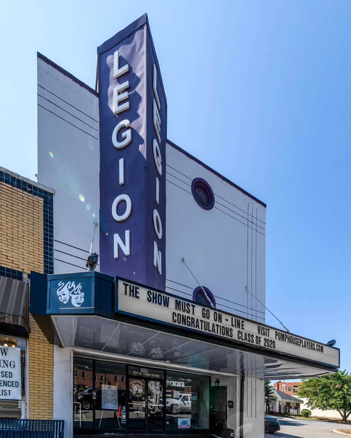 The Legion Theatre is one of two Cartersville venues highlighted in photographer Michael Boatright's Dark Houses Atlanta project.