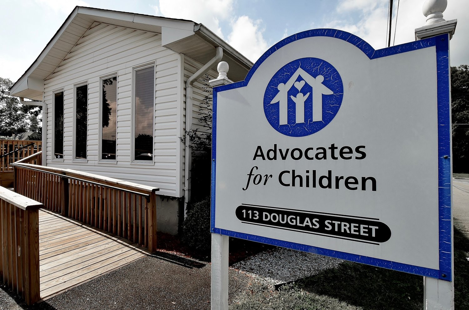The Advocates for Children Children's Advocacy Center is located on Douglas Street in Cartersville.