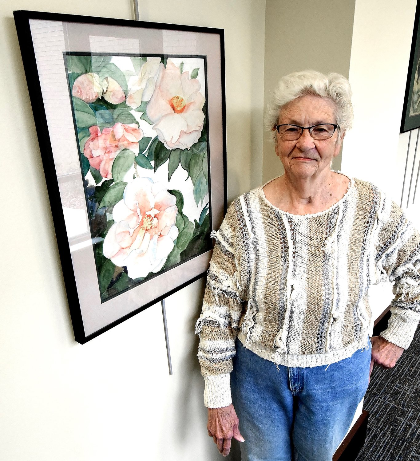 The art work of Connie Haralson is on display at the Cartersville Public Library through Nov. 30.