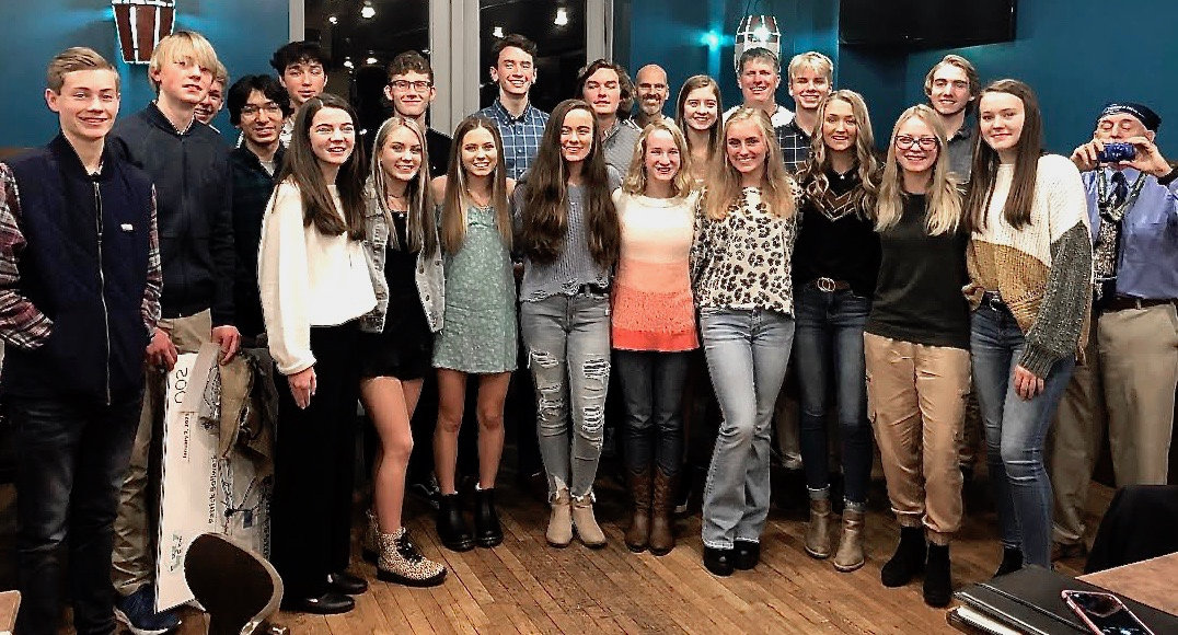Runners from Cartersville and Woodland were recognized for their achievements during the 2020 high school cross country season in a ceremony Thursday in downtown Cartersville.