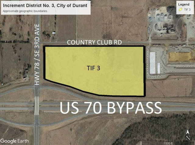 The Salem Tubing facility will be situated on this parcel just outside Durant.