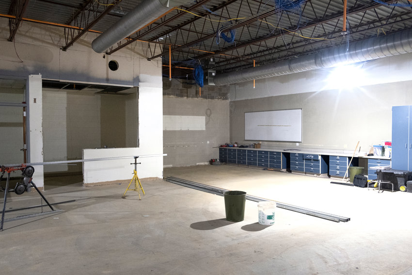This will be the location of a new art room at Blair High School.