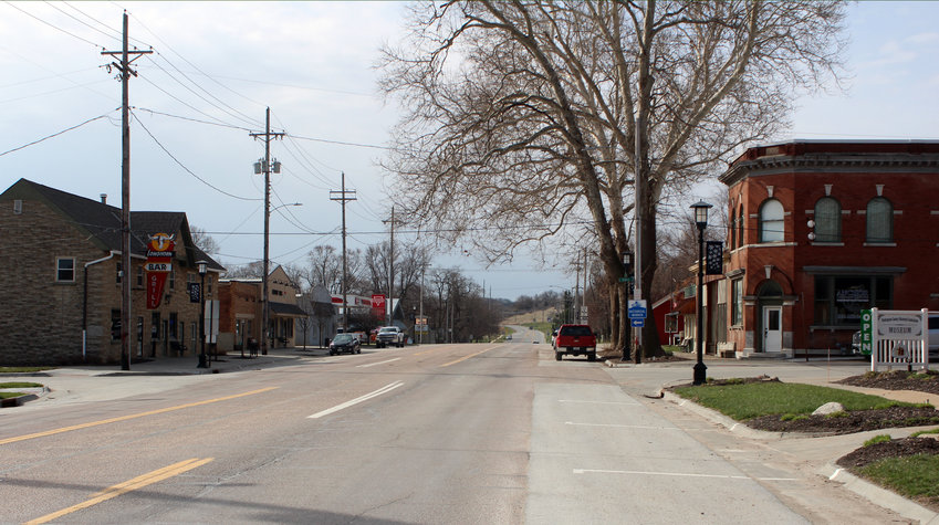 With COVID-19, Fort Calhoun has had to sanitize, social distance and cancel annual events to keep its residents safe. After a year, many businesses are operating as normal, with cautions still in place.