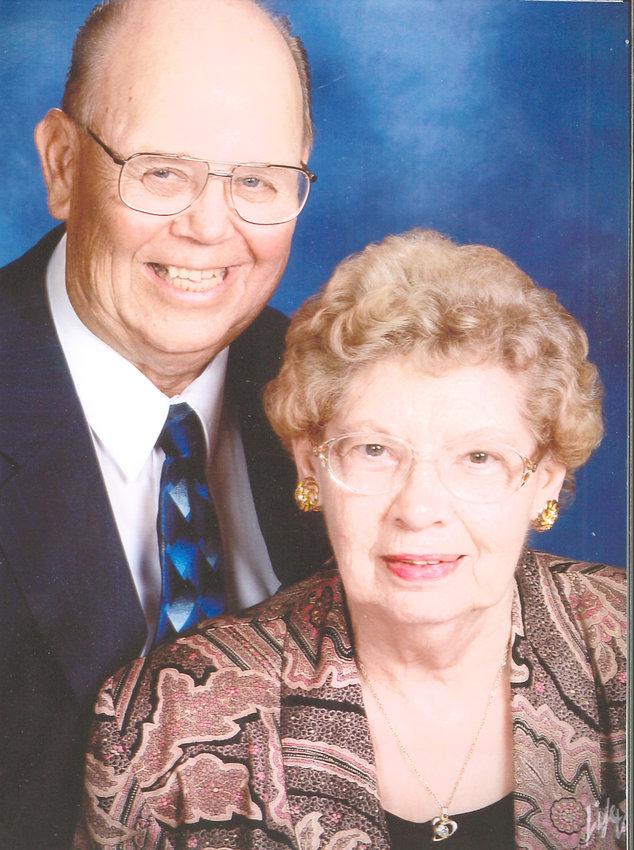 Lloyd and Joan Wright