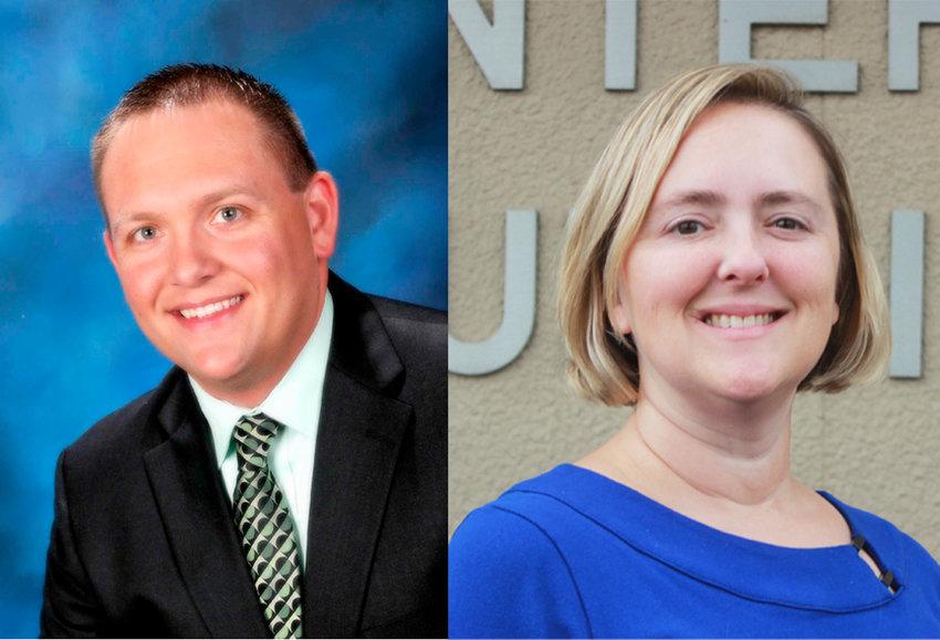 Chris Rhoades and Elizabeth Elliott