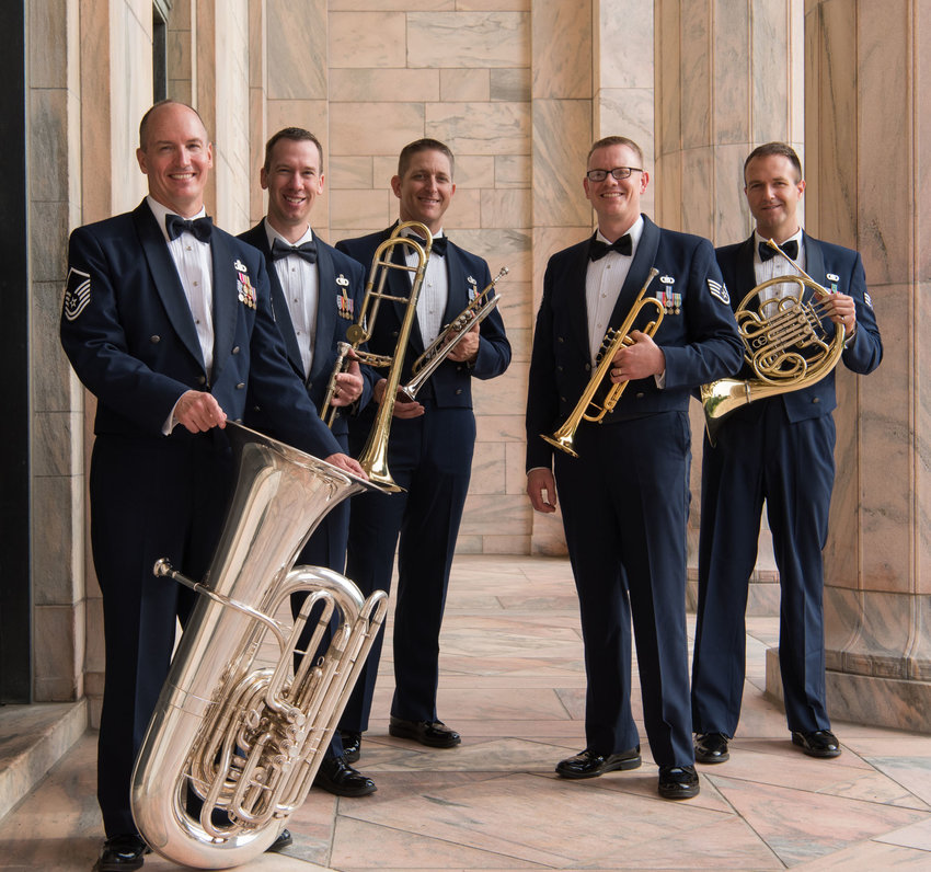 The Offutt Brass will peform a free concert at 7:30 p.m. Feb. 13 in the Lela Neve Auditorium at Blair High School, 440 N 10th St.