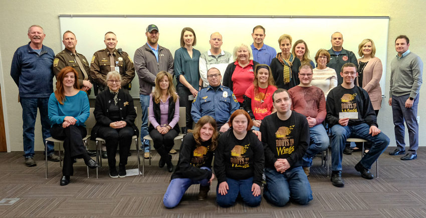 The Blair Area Community Foundation awarded $40,000 in grants to 18 different organizations Thursday at the Blair Public Library and Technology Center.