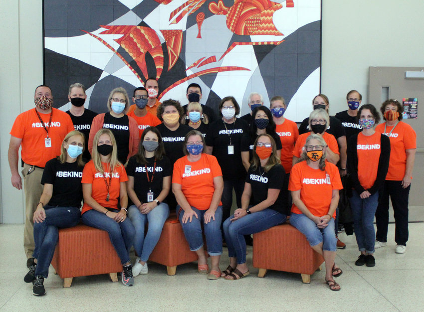 Fort Calhoun Junior-Senior High School is participating in Bullying Prevention Month this October by sporting #BeKind shirts and educating on bullying's effects.