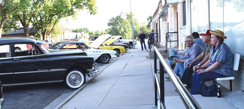 People gathered in Arlington for the first installment of a traveling Show and Shine car show throughout the Washington County area on Sept. 24. Darren Rogers withNorth 40 Auto of Arlington and Tim Hirchert of Olsen Auto Service in Blair, put together the show.