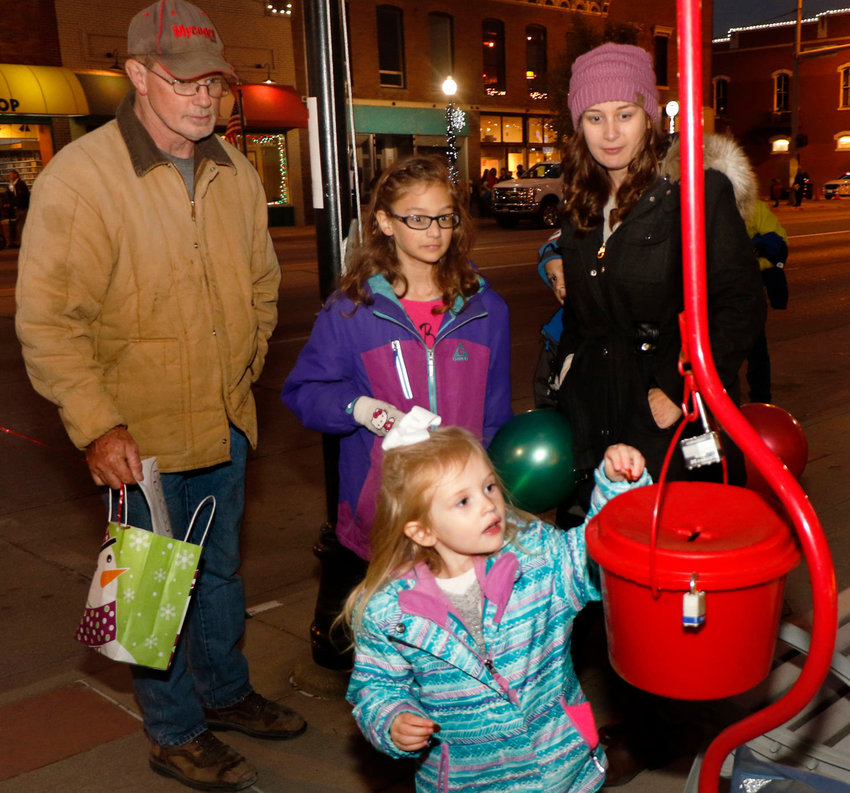 The Salvation Army's Washington County unit will kick off its Red Kettle campaign Nov. 21 in Blair.