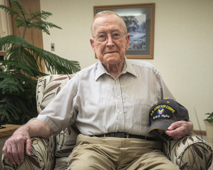 Martin Kuhr of Blair served as a radio operator on troop transport planes, including a C-47 and a C-54, in the South Pacific during World War II.