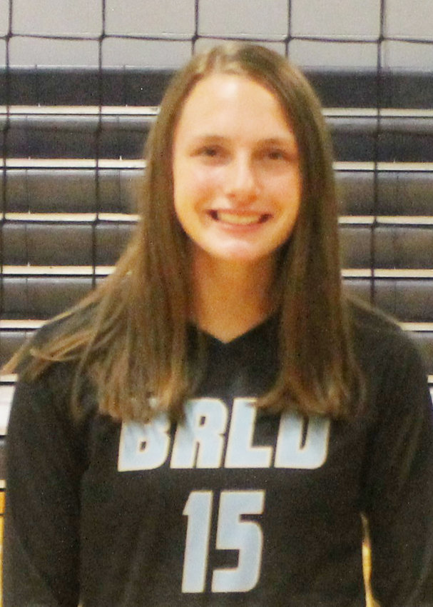 Caragan Tietz....Senior....Honorable Mention All-State...