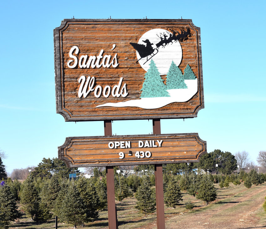 Santa's Woods reported record sales during opening weekend.