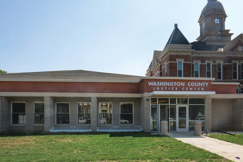 The sheriff's office moved into the Washington County Justice Center in September.