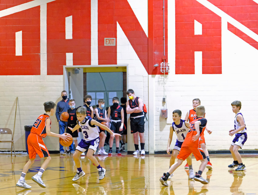 Blair Basketball Club hosted its annual Hoopstock Classic tournament last Saturday and Sunday at the Gardner-Hawks Center on the former campus of Dana College.