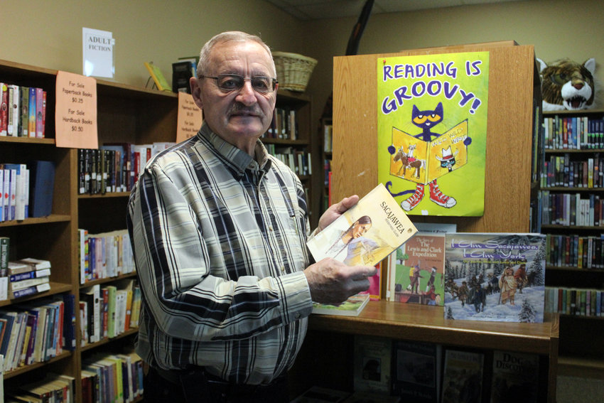 Tim Oelke has volunteered at the Fort Calhoun Library since 2019.