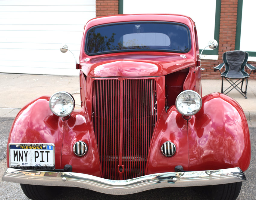This 1936 Ford coupe made an appearance at the Show and Shine car show in Arlington.