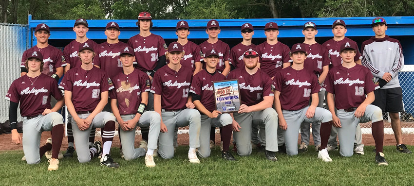 The Post 71 Seniors won the Valley tournament over the weekend.