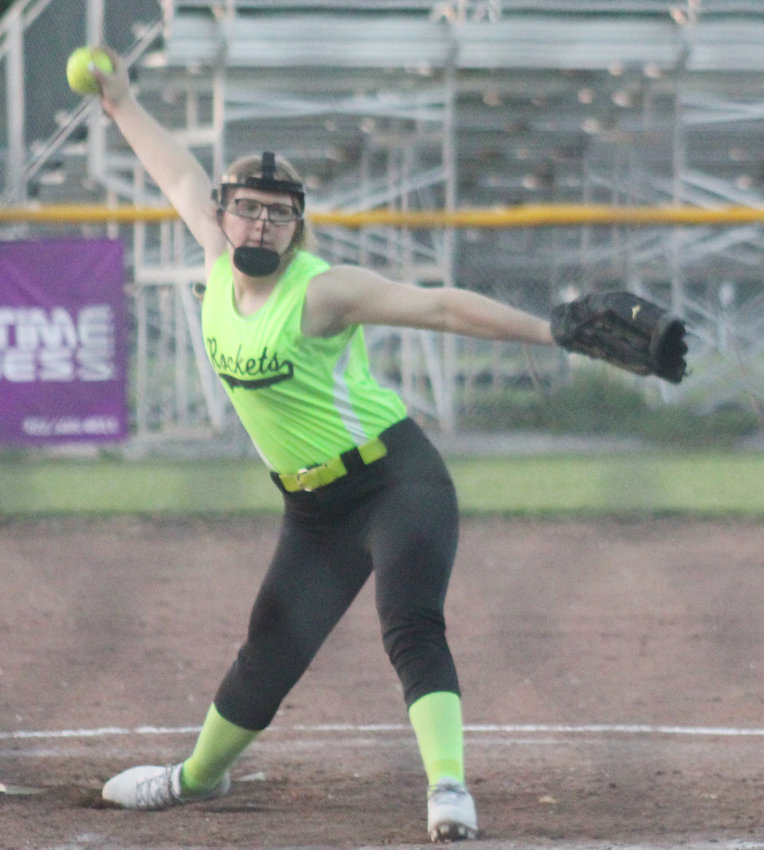 Morgan Ray went the distance against Wakefield in the pitching circle.
