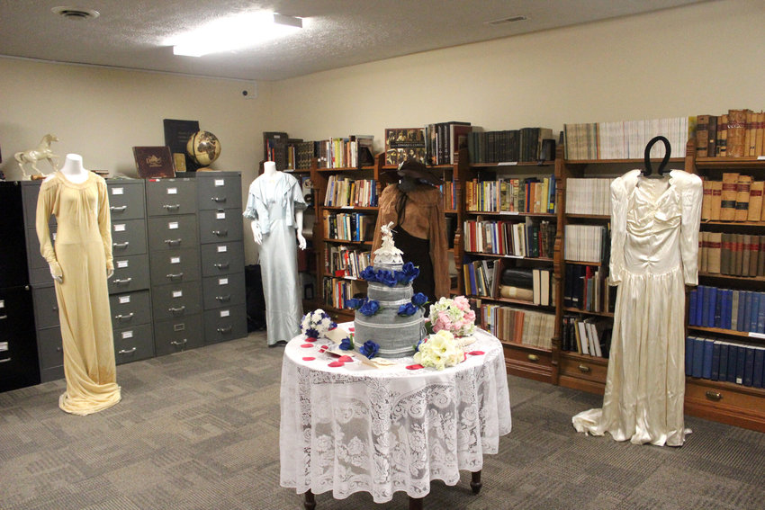 The Wedding Dresses Through Time event will open Friday and continue through July 24 at the Washington County Museum.