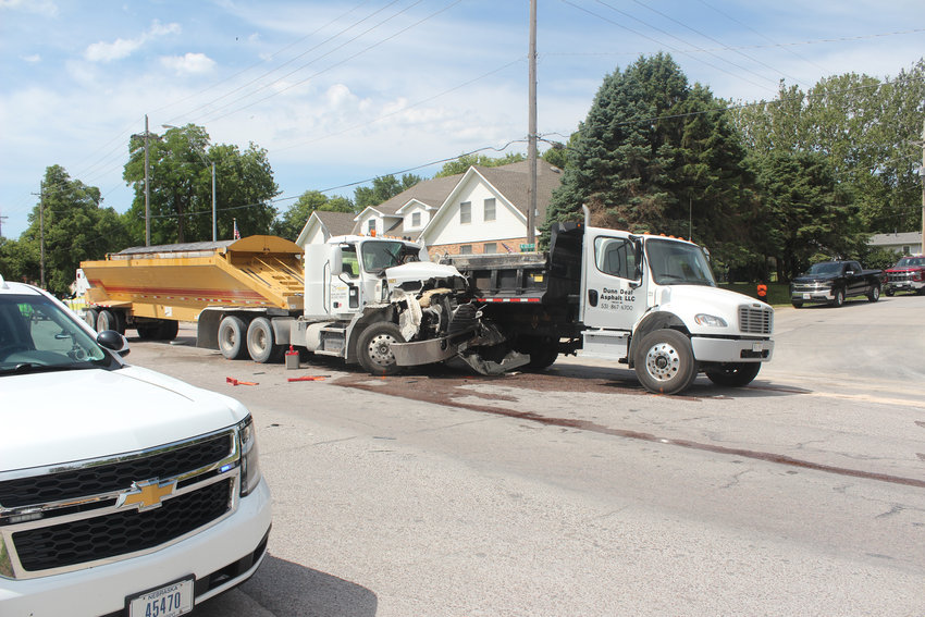 One driver was injured, and the other refused treatment following a two-vehicle accident on 14th and Clay streets in Fort Calhoun Tuesday morning.