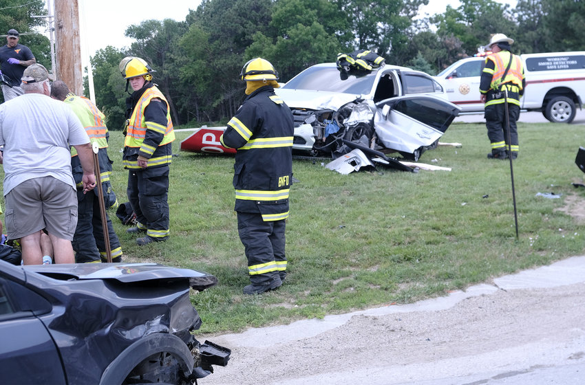 One driver and a 6-month-old child were transported to Memorial Community Hospital and Health System following a two-vehicle accident July 2 at the intersection of state Highway 133 and County Road P26.