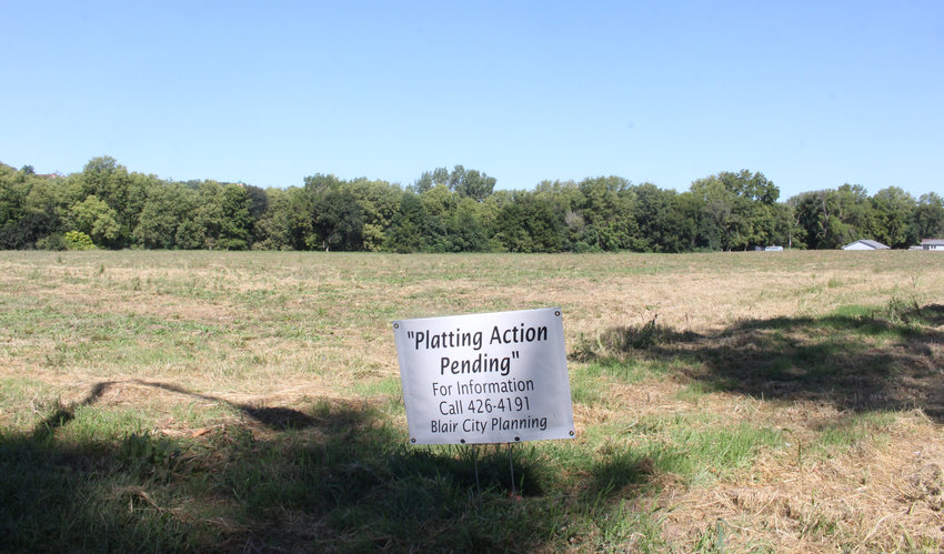 This land at 24th and Nebraska streets could soon become Blair's newest subdivision. The Blair Planning Commission recommended approval of a preliminary plat at its meeting Tuesday.