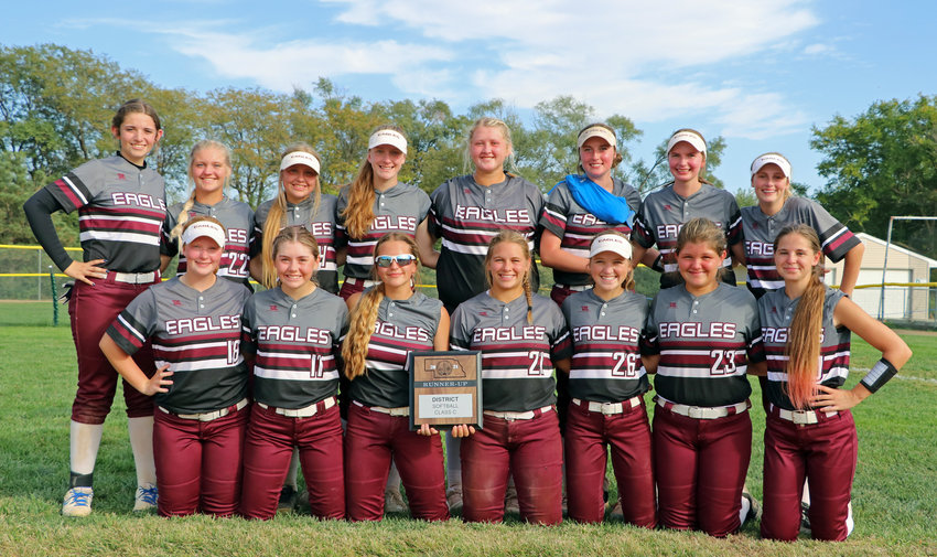 The 2021 Arlington Eagles closed out their season Friday as district runner-ups in Malcolm.