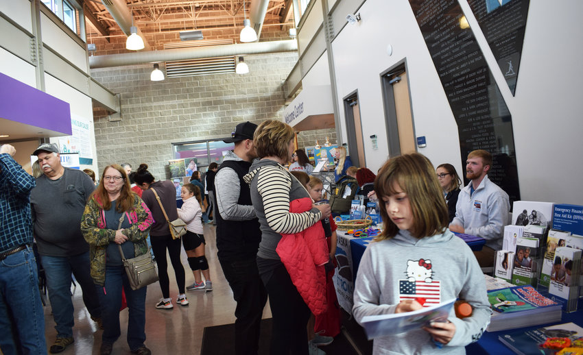 Members from several organizations brought their knowledge and expertise to the Blair YMCA for the Washington County Disaster Preparedness and Health Fair, hosted by the Washington County Long Term Recovery team Saturday.